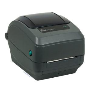 Термотрансфертные принтеры: Принтер «Zebra GX430t» (USB, RS-232, LPT)(отрезчик)