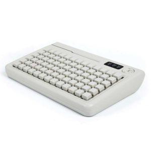 POS клавиатуры: Программируемая клавиатура «Shtrih S78D-SP» (78 клавиш; MSR123; ключ; PS/2)(влагозащищенная)