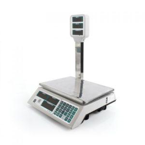Весы электронные торговые: Весы «Штрих М7Т 15-2,5 А» (со стойкой)