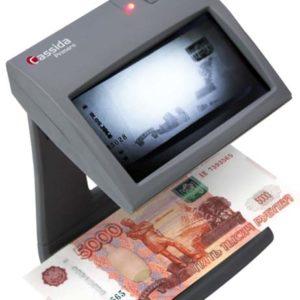 Детекторы банкнот (валют): Детектор банкнот «Cassida Primero»