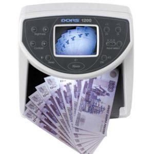 Детекторы банкнот (валют): Детектор банкнот «DORS 1200 М1»