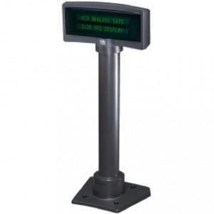 NCR: Дисплей покупателя «NCR 9мм 2х20 VFD» (в сборе с интерф. кабелем и подставкой)