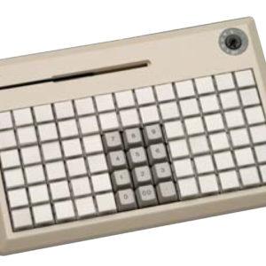 NCR: Программируемая клавиатура «NCR 5932-7XXX (PS/2)» (78 клавиш)(ридер 3 дорожки)